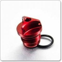 Kawasaki Anodised Oil Filler Cap by Pro-Bolt