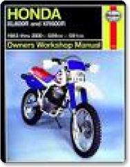 Haynes Honda XL600R & XR600R 83-00 Manual