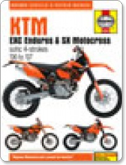 Haynes KTM EXC Enduro  & SX Motocross 00-07 Manual