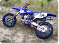 Yamaha WR 250 to 450 05-06 R&G Tail Tidy