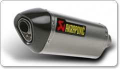 Akrapovic Yamaha Road Legal Slip Ons with removable baffle