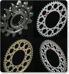Renthal Rear Sprocket & Carrier Ducati 748 Biposto / 748S '95-'03