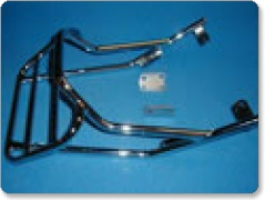 Yamaha SR125  1997 onwards Chrome Renntec Sports Rack