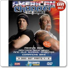 American Chopper The Series Parts 4 - 6 DVD