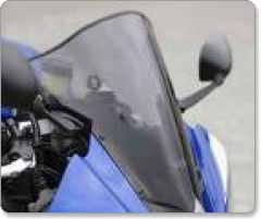 Suzuki GSF600S Bandit 2000-2004 Double Bubble Screens