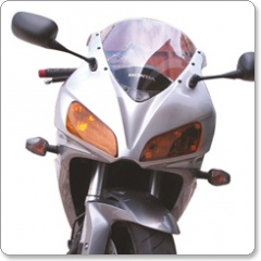 Suzuki GSX750F W-Y 1998-2005 Double Bubble Screens