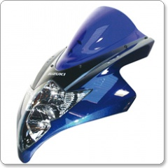 Suzuki GSX1300R Hayabusa Double Bubble Screen