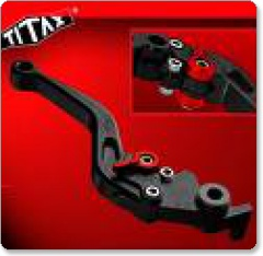 Titax Adjustable Clutch and Brake Levers Honda