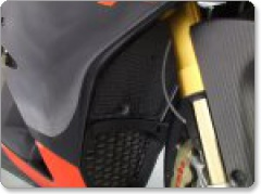 Aprilia RSV4 2009 on R&G Radiator Guard and Oil Cooler Guard