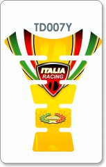 Ducati Italia Racing Tank Pad - YELLOW