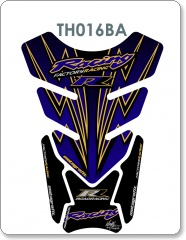 Honda 2009 DESIGN RR SPORTS BLUE/GOLD 2003 - 2009 Tank Pad