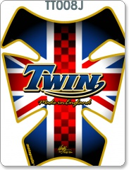 RETRO UNION JACK TWIN TANK PAD