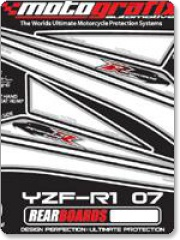 Yamaha YZF - R1 07MY Rear Number Board