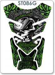 DEATH OR GLORY DESIGN GREEN TANK PAD