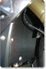 R&G Radiator Guard for BMW S1000RR 2010 models