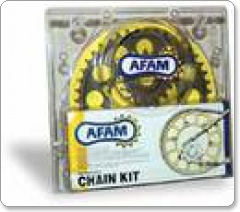 Afam Chain & Sprocket Kit - Suzuki 125 GT / GL / X4 1975 Onwards