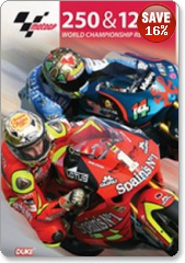 Moto GP 125 & 250cc 2007 Review DVD
