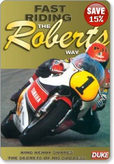 Fast Riding the Roberts Way DVD
