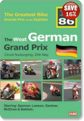 West German Grand Prix 1986 DVD