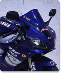 Yamaha YZR500 1998-2001 Ermax Aeromax Screen in clear only