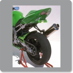 Kawasaki ZX6R 2003-2004 	(790300053) UNPAINTED Plate Holder by Ermax
