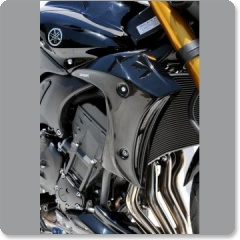 Yamaha FZ8 2010-2015 Ermax Radiator Scoops (Pair)