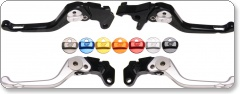 Oberon Short Adjustable Levers Harley Davidson Dyna FXD