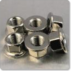 Stainless Steel Sprocket Nuts- pack of 6