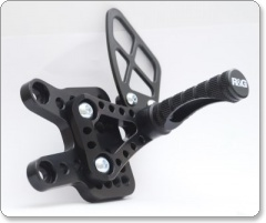 Suzuki GSXR1000 K9 on R&G Adjustable Rearsets