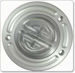 Biketek Race Fuel Filler Cap Keyless - KawasakiRace filler cap -   LIGHT WEIGHT aluminium fuel fille