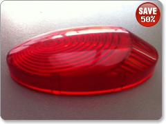 Replacement Indicator Lens for Mototeck undertray-RED