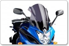 Yamaha XJ6 DIVERSION F 2010 - 2012 Touring Style Light Smoke Screen by Puig
