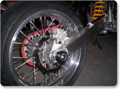 GasGas 125, 250 and 450 Swingarm Protectors by R&G