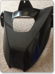 BMW S1000RR 2010 Carbon Fibre Rear Hugger - used