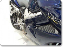 Honda VFR800 V-TEC / Interceptor 2002 Onwards R&G Crash Protectors