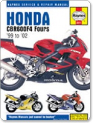 Haynes Honda CBR 600 F4 99 - 06 Manual