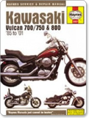 Haynes Kawasaki Vulcan 700/750 & 800 85-04 Workshop Manual