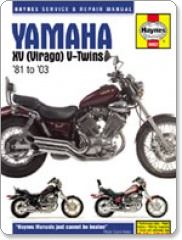 Haynes Yamaha Virago (XV) V-Twins 81-03 Manual