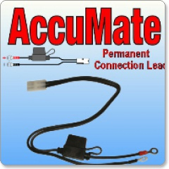 Optimate/Accumate Permanent Battery Leads