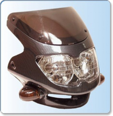 Dash Universal Sports Fairing Headlight